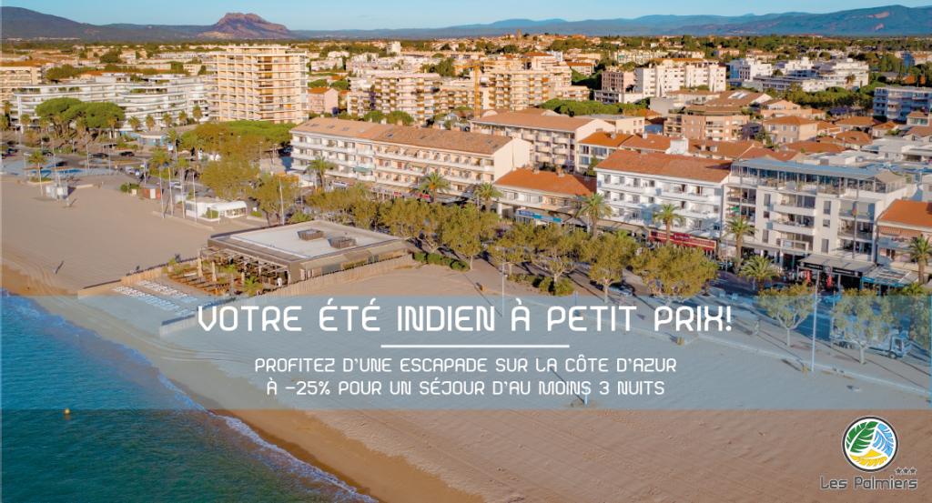 Hôtel Les Palmiers - Promotion